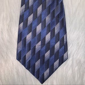 Dockers silk blue design tie D
